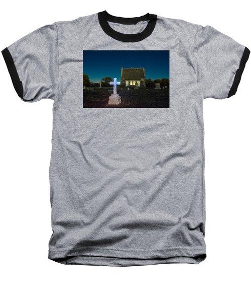 Hughes Children At Riverside Cemetery Baseball T-Shirt