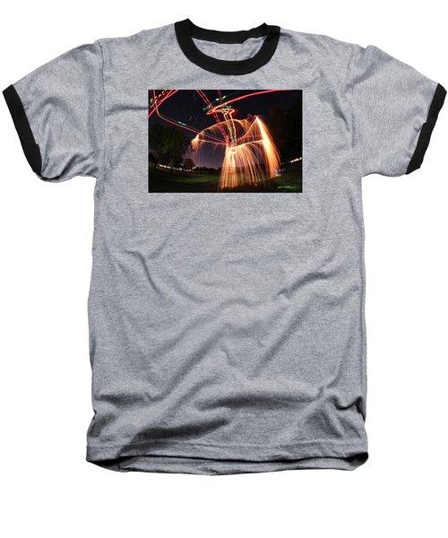 Hula Dancer Baseball T-Shirt