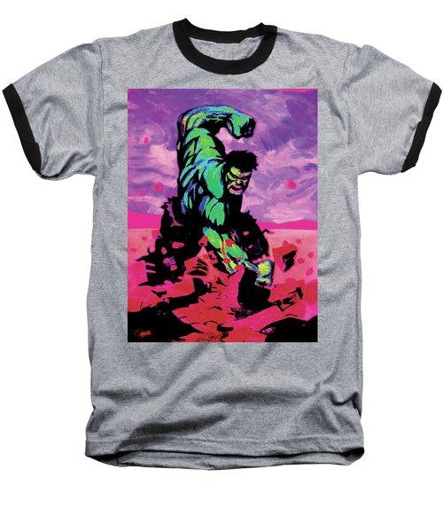 Hulk Smash Baseball T-Shirt