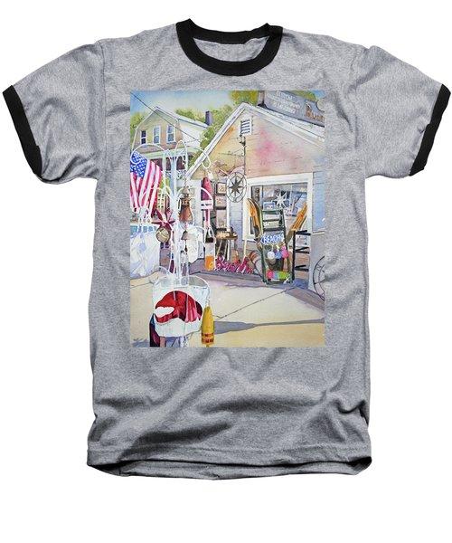 Hull Of A Shoppe Baseball T-Shirt by P Anthony Visco