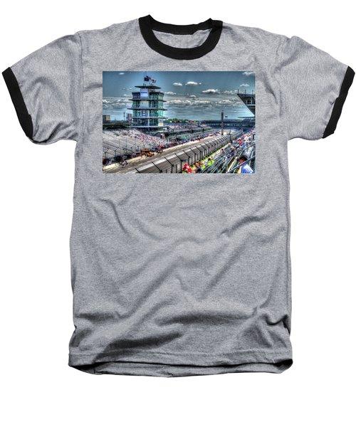 Hulman Suites Baseball T-Shirt by Josh Williams