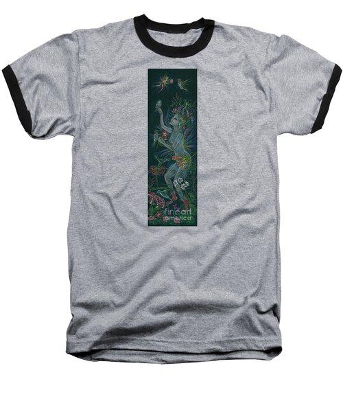 Hum Baseball T-Shirt by Dawn Fairies