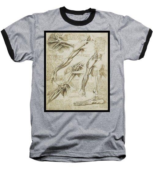 Human Arm Study Baseball T-Shirt