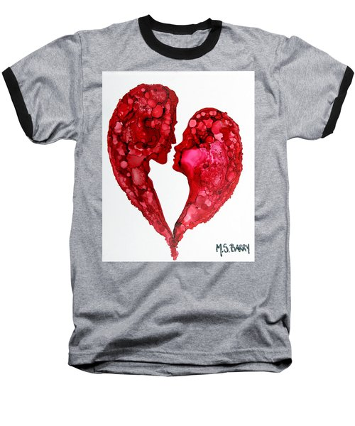 Human Heart Baseball T-Shirt