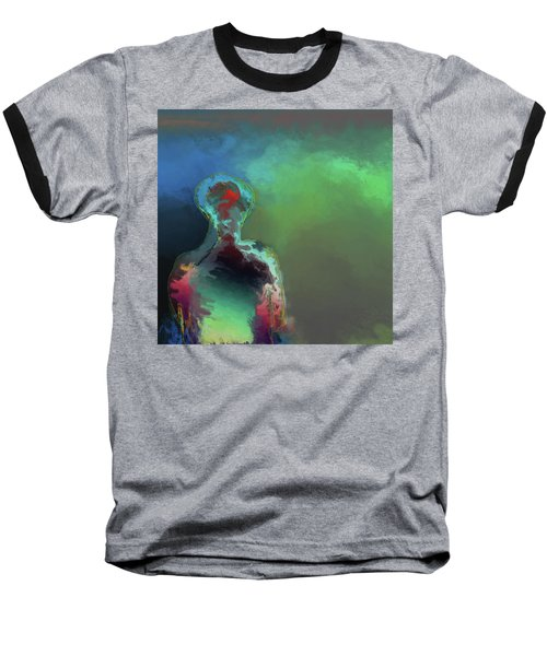 Humanoid In The Fifth Dimension Baseball T-Shirt