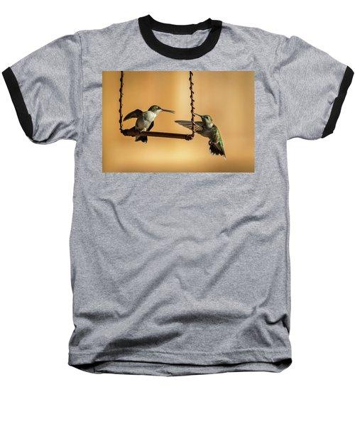 Humming Birds Baseball T-Shirt