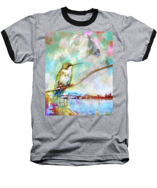 Hummingbird By The Chattanooga Riverfront Baseball T-Shirt