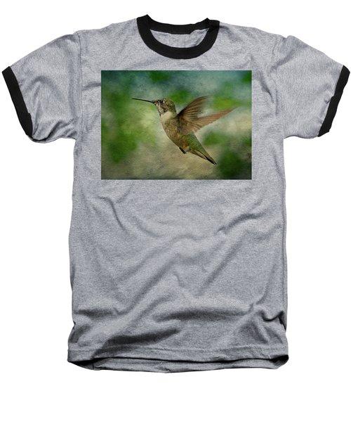 Hummingbird In Flight II Baseball T-Shirt