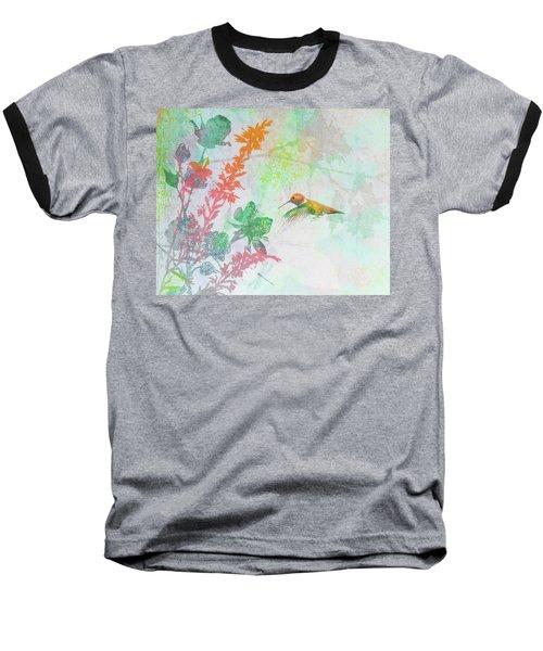 Hummingbird Summer Baseball T-Shirt