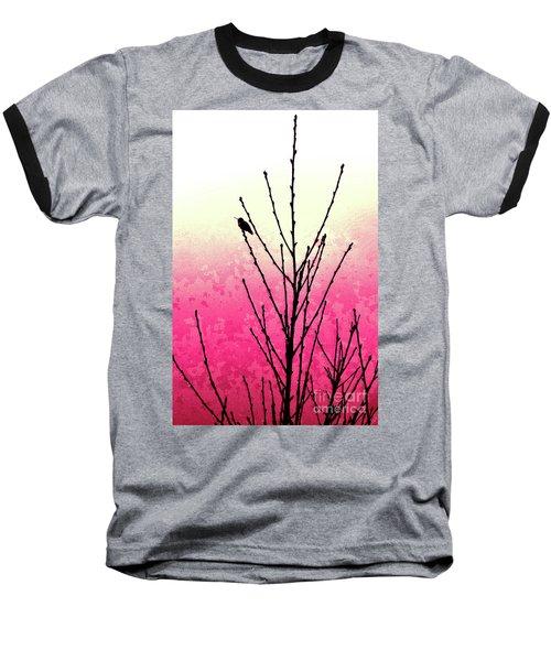 Hummingbird Valentine Baseball T-Shirt