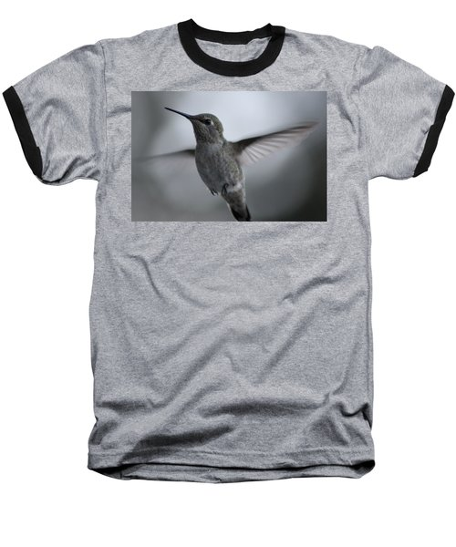 Baseball T-Shirt featuring the photograph Hummm by Cathie Douglas