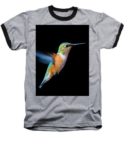Hummming Bird Baseball T-Shirt