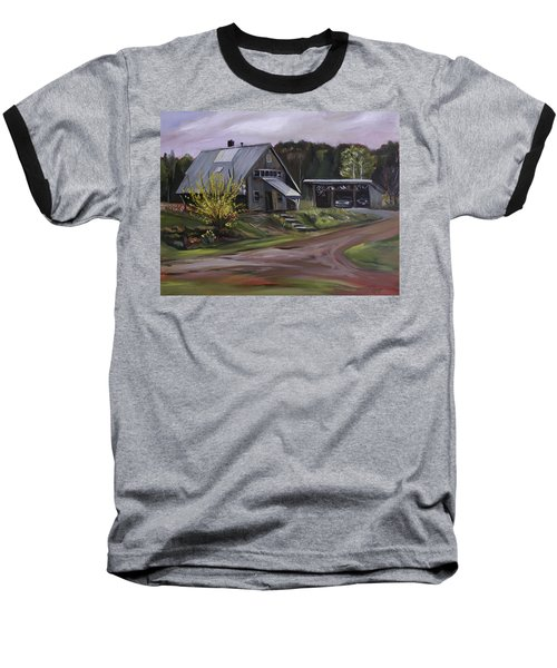 Humpals Barn Baseball T-Shirt