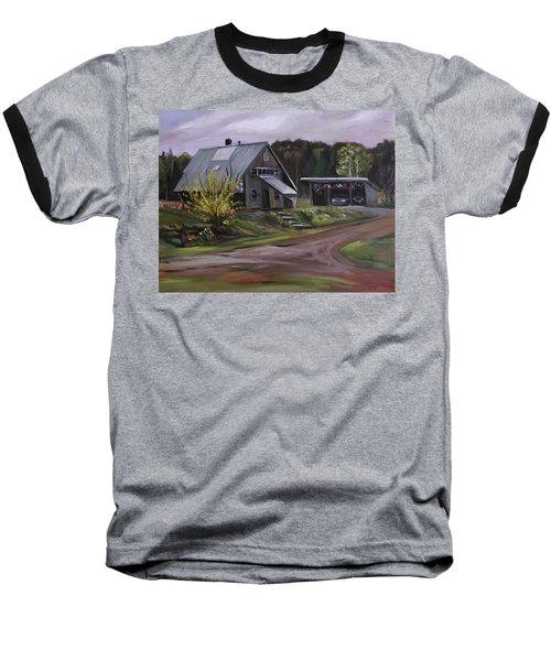 Humpals Barn Baseball T-Shirt