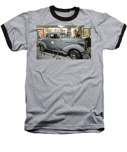 Humphrey Bogart High Sierra Car Baseball T-Shirt