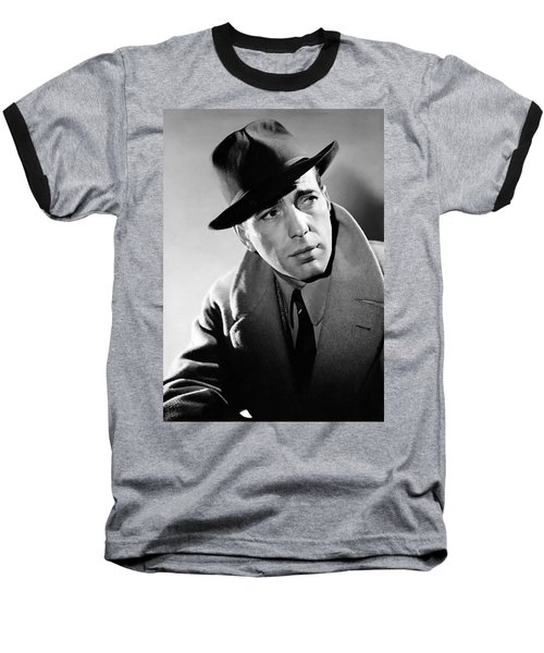 Humphrey Bogart Baseball T-Shirt