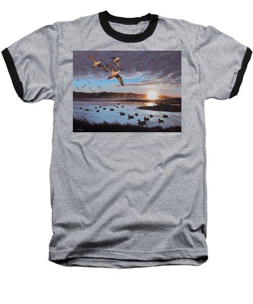 Humphrey Farm Pintails Baseball T-Shirt