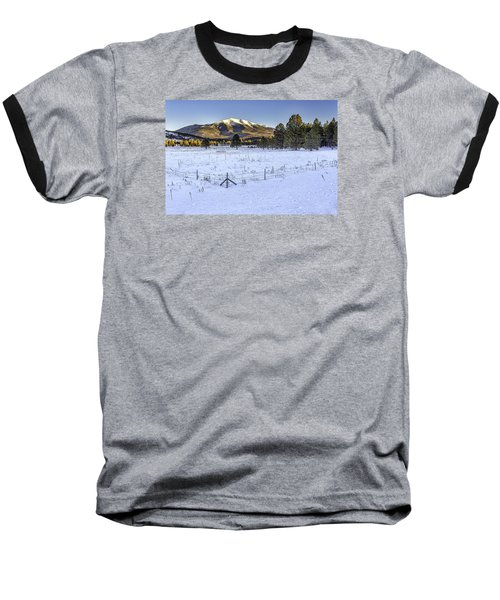 Humphreys Peak Baseball T-Shirt