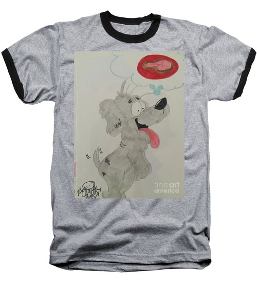 Hungry Dog Baseball T-Shirt