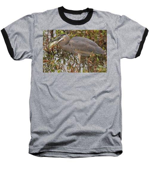 Hungry Heron Baseball T-Shirt