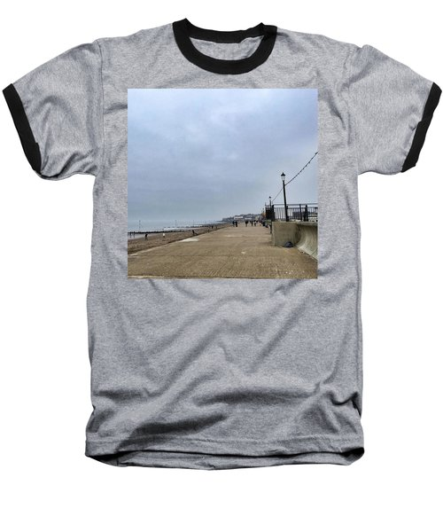 Hunstanton At 4pm Yesterday As The Baseball T-Shirt