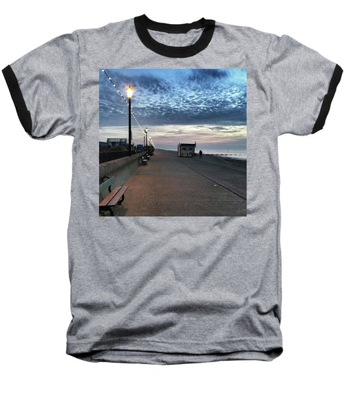 Hunstanton At 5pm Today  #sea #beach Baseball T-Shirt