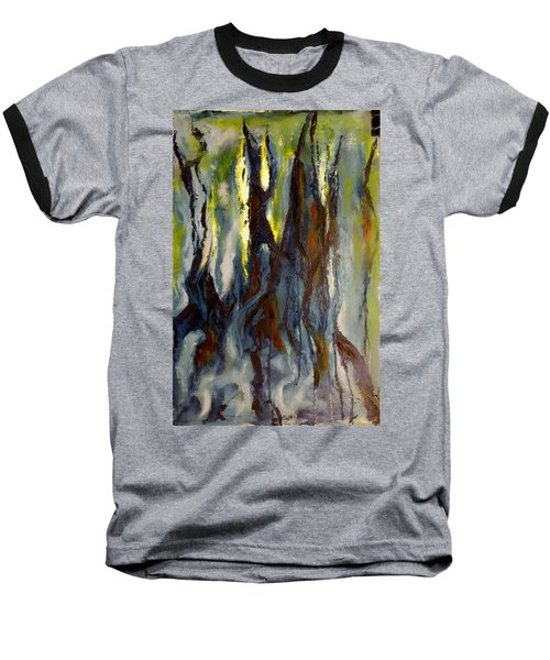 Hunted Forest Baseball T-Shirt
