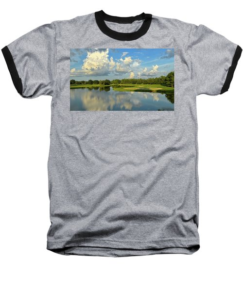 Hunter's Green Hole 18 Baseball T-Shirt