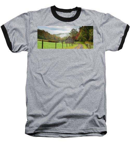 Hunting Cabin-3 Baseball T-Shirt
