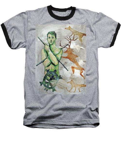 Youth Hunting Turtles Baseball T-Shirt