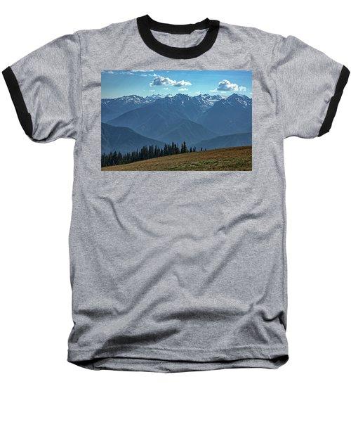 Hurricane Ridge Baseball T-Shirt