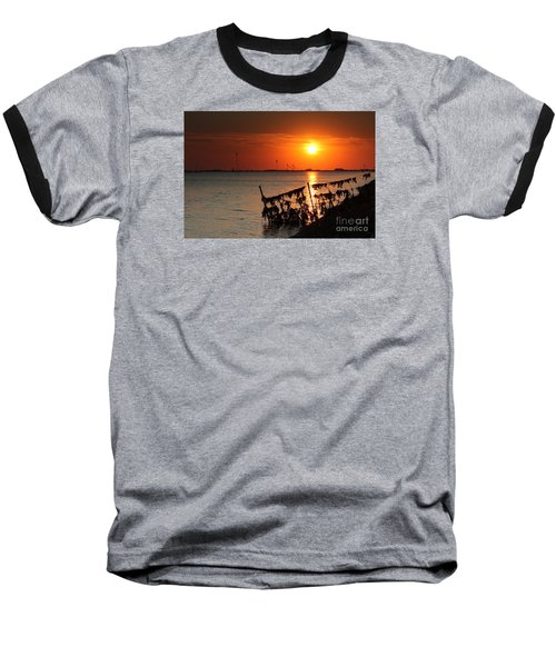Husum Sunset Baseball T-Shirt
