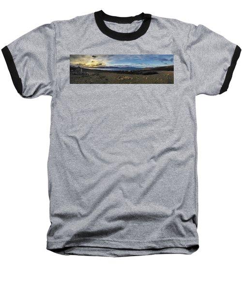 Hvalfjorour Panorama Baseball T-Shirt
