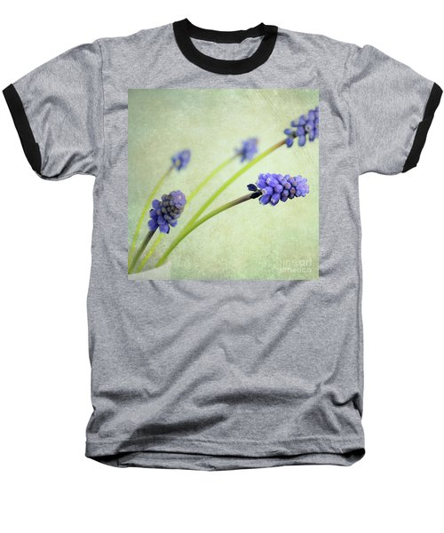 Baseball T-Shirt featuring the photograph Hyacinth Grape by Lyn Randle