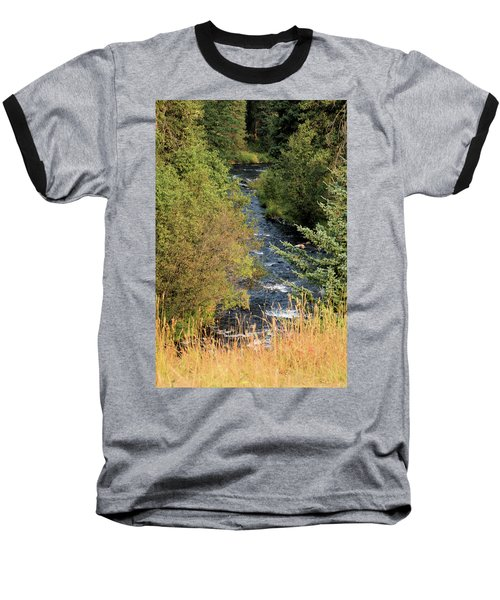 Hyalite Creek Overlook Baseball T-Shirt