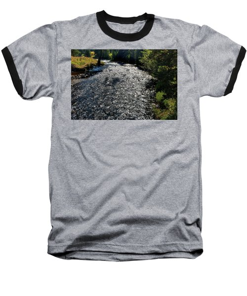 Hyalite Creek  Baseball T-Shirt