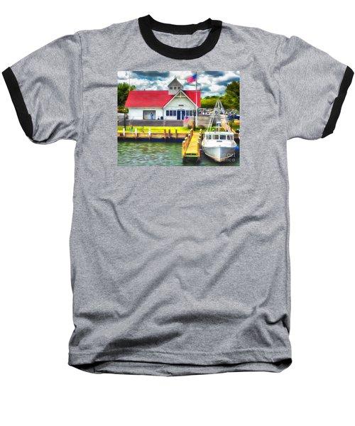 Hyannis The Coastguard Baseball T-Shirt