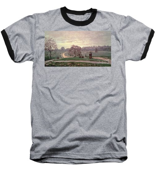 Hyde Park Baseball T-Shirt by Claude Monet
