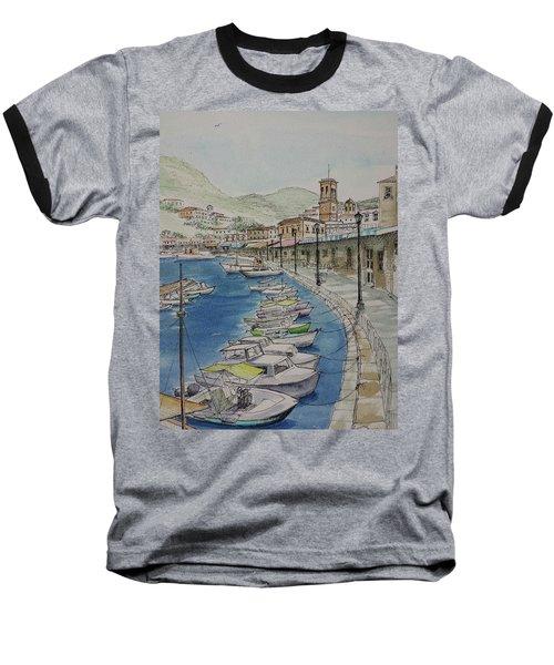 Hydra Clock Tower Baseball T-Shirt
