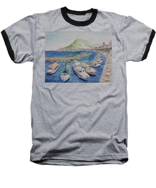 Hydra Harbor Baseball T-Shirt