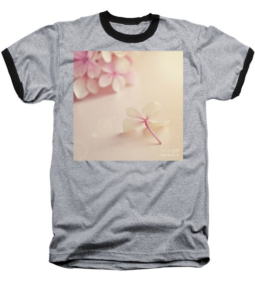 Baseball T-Shirt featuring the photograph Hydrangea Flower by Lyn Randle