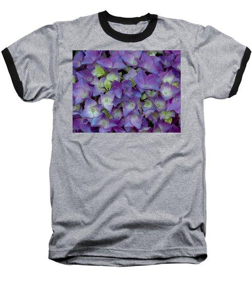 Hydrangia Blossom Baseball T-Shirt