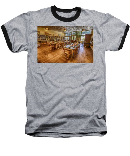 Hye Market General Store Baseball T-Shirt by Kathy Adams Clark