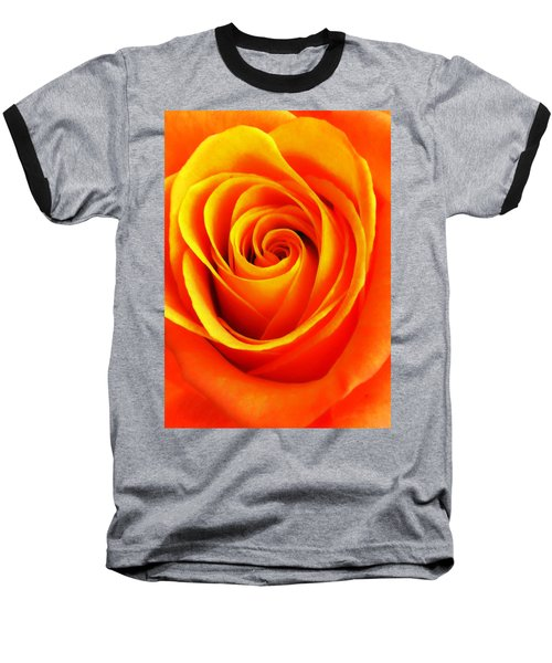 Hypnotic Orange Baseball T-Shirt