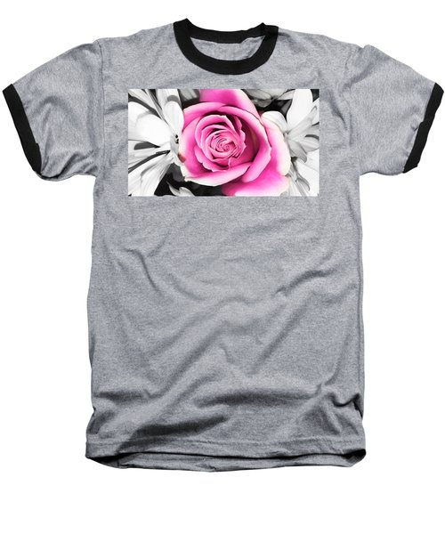 Hypnotic Pink 2 Baseball T-Shirt