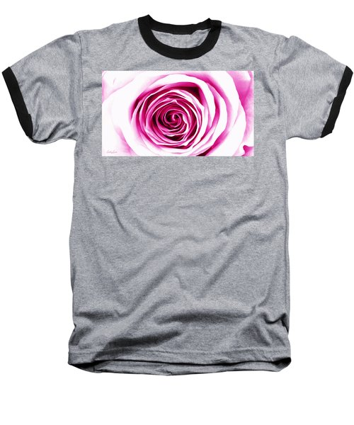 Hypnotic Pink Baseball T-Shirt