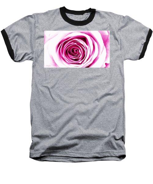 Hypnotic Pink Baseball T-Shirt