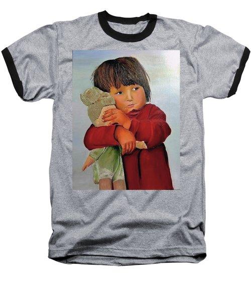 I Am An Orphan Girl Baseball T-Shirt