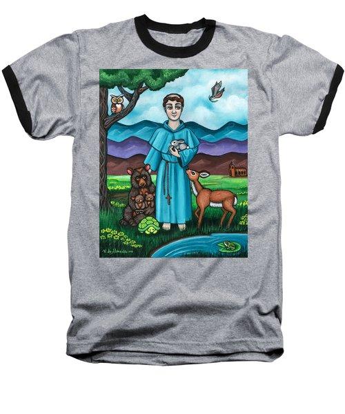 I Am Francis Baseball T-Shirt