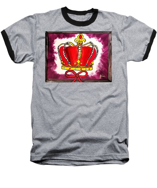 I Am King  Baseball T-Shirt